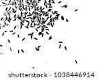 white rice random pattern... | Shutterstock .eps vector #1038446914
