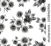 abstract elegance seamless... | Shutterstock . vector #1038460906