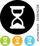 Hourglass   Vector Icon Isolated