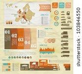 detail old infographic vector... | Shutterstock .eps vector #103846550