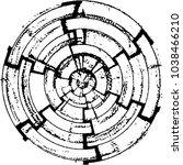abstract grunge grid stripe... | Shutterstock . vector #1038466210