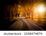 the beautiful city park   Shutterstock . vector #1038474874