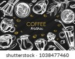 black vector background with... | Shutterstock .eps vector #1038477460
