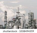 industrial zone the equipment... | Shutterstock . vector #1038494359