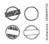 stamp set. empty vector stamp...   Shutterstock .eps vector #1038499720