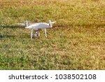 drone on  lawn | Shutterstock . vector #1038502108