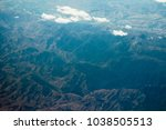aerial photo. southern alps ... | Shutterstock . vector #1038505513
