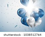 celebration and party... | Shutterstock .eps vector #1038512764
