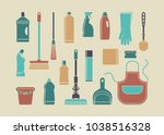icons of accessories and means...   Shutterstock .eps vector #1038516328