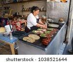puebla  mexico  south america   ... | Shutterstock . vector #1038521644