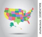 vector illustration of a high... | Shutterstock .eps vector #1038547498