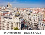 metropolis building or edificio ... | Shutterstock . vector #1038557326
