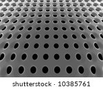 abstract black high tech mesh... | Shutterstock . vector #10385761