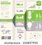 ecology info graphics... | Shutterstock .eps vector #103857950