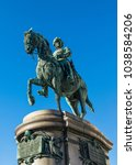 the statue of archduke albrecht ... | Shutterstock . vector #1038584206