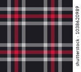 seamless plaid pattern in red... | Shutterstock .eps vector #1038620989