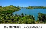 seascape of coron island ...   Shutterstock . vector #1038653848