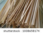 the rest of the bamboo to... | Shutterstock . vector #1038658174
