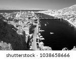 landscape of omis city   hill... | Shutterstock . vector #1038658666