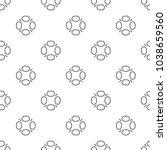 seamless geometric ornamental... | Shutterstock .eps vector #1038659560