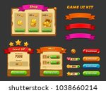game ui kit. complete menu of...