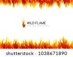 fire. design collection....   Shutterstock .eps vector #1038671890