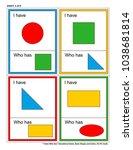 educational math game for kids  ... | Shutterstock .eps vector #1038681814