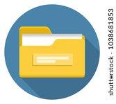 flat vector illustration of... | Shutterstock .eps vector #1038681853