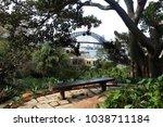 harbour bridge view from wendy...   Shutterstock . vector #1038711184