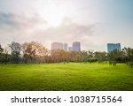 beautiful morning light in...   Shutterstock . vector #1038715564