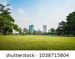 beautiful morning light in... | Shutterstock . vector #1038715804