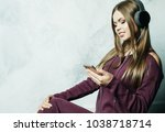 people  and technology concept  ... | Shutterstock . vector #1038718714