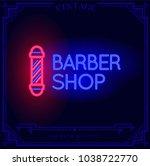 Barber Shop Neon Light Sign....
