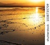 in  danakil ethiopia africa  in ...   Shutterstock . vector #1038735709