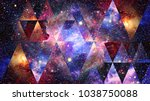universe  nebula  galaxy and... | Shutterstock . vector #1038750088