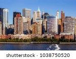 photo of midtown manhattan... | Shutterstock . vector #1038750520