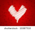 illustration for lovers with...   Shutterstock . vector #10387510