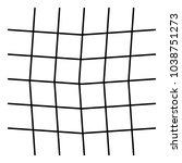 wavy  criss cross grid pattern   Shutterstock .eps vector #1038751273
