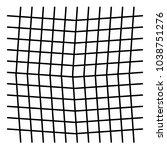 wavy criss cross grid pattern   Shutterstock .eps vector #1038751276