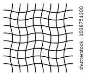wavy  zig zag  criss cross grid ...   Shutterstock .eps vector #1038751300