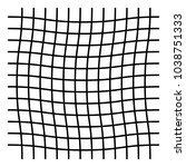 wavy  zig zag  criss cross grid ... | Shutterstock .eps vector #1038751333