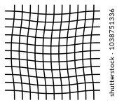 wavy  zig zag  criss cross grid ...   Shutterstock .eps vector #1038751336