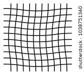 wavy  zig zag  criss cross grid ...   Shutterstock .eps vector #1038751360