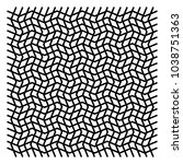 wavy  zig zag  criss cross grid ...   Shutterstock .eps vector #1038751363