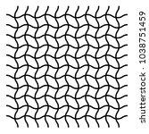 wavy  zig zag  criss cross grid ... | Shutterstock .eps vector #1038751459