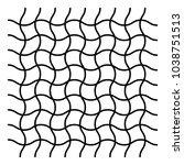 wavy  zig zag  criss cross grid ... | Shutterstock .eps vector #1038751513
