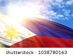Flag Of Philippines Against The ...