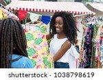 African American Market Vendor...