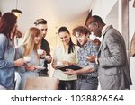 successful young business...   Shutterstock . vector #1038826564