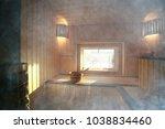 Sauna  Wooden Interior Baths ...